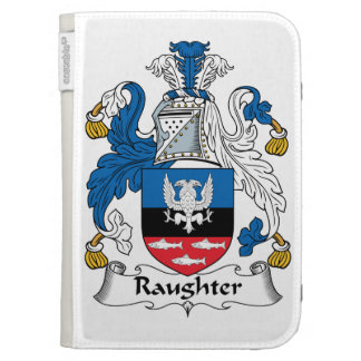 Raughter Family Crest Kindle Folio Case