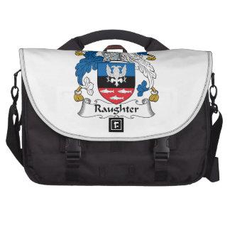 Raughter Family Crest Laptop Computer Bag