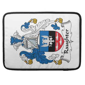 Raughter Family Crest MacBook Pro Sleeve