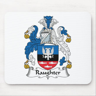 Raughter Family Crest Mouse Mat