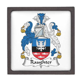 Raughter Family Crest Premium Gift Boxes