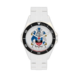 Raughter Family Crest Wristwatch