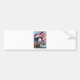 Raul Rubio Limited Edition painting Bumper Sticker