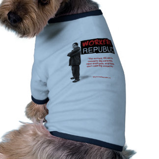 Raul: The workers, WE are the company... Pet Clothes