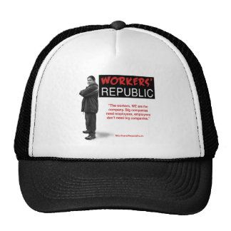 Raul: The workers, WE are the company... Hats