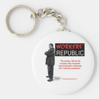 Raul: The workers, WE are the company... Key Chain