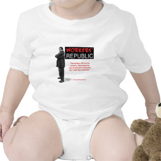 Raul: The workers, WE are the company... Baby Bodysuit