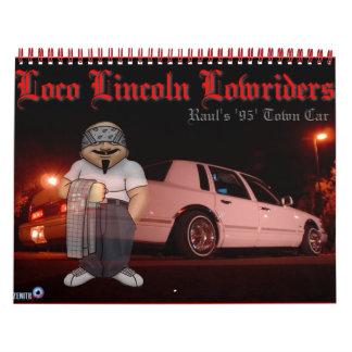 rauls_towncar wall calendars