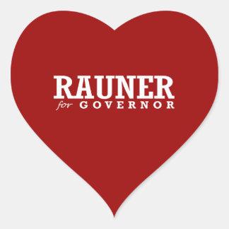 RAUNER FOR GOVERNOR 2014 STICKER