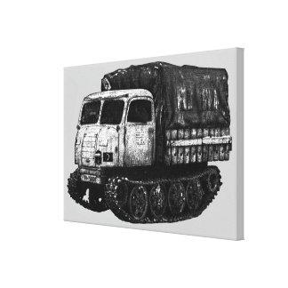 Raupenschlepper Ost Canvas Print