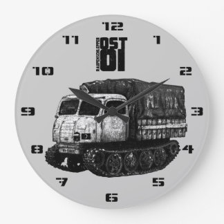 Raupenschlepper Ost Reloj Redondo Grande