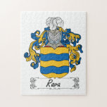 Rava Family Crest Jigsaw Puzzle