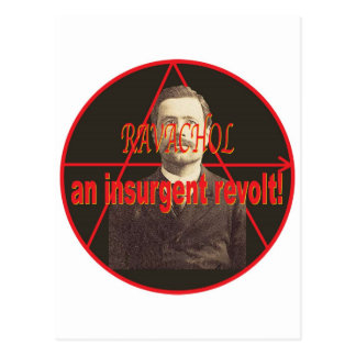 Ravachol-Portrait Postcard