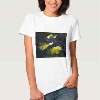 Ravaged Golden Autumn Leaves T-Shirt