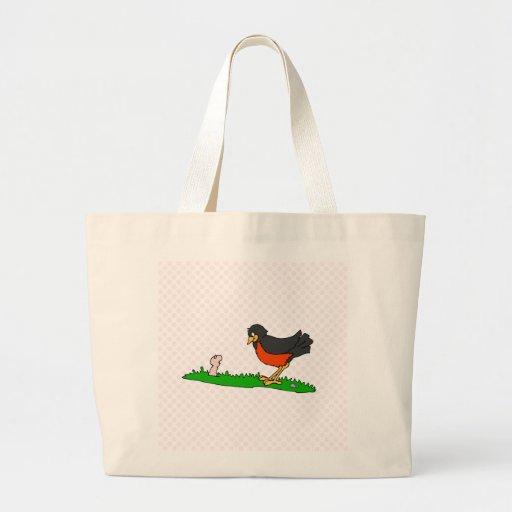 Ravaged Robin Tote Bag