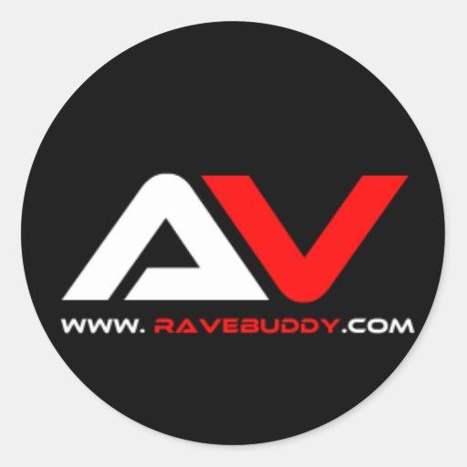 rave-buddy-vector.png pegatina redonda
