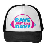 Rave Just Like Dave Mesh Hat