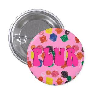 """Rave Kandi Pink """"PLUR"""" Pin"""