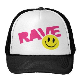 Rave Smiley Cap