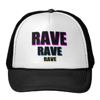 Rave x 3 trucker hat