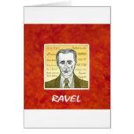 Ravel Greeting Cards