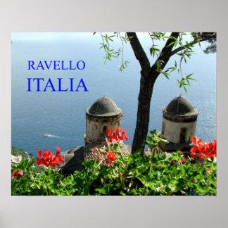 ravello Italia Póster