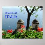 ravello italia print
