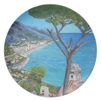 Ravello, placas de Italia Platos De Comidas