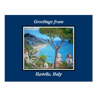 Ravello, postal de Italia