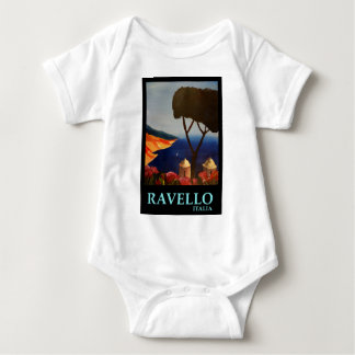 Ravello Salerno Italy View of Amalfi Coast Baby Bodysuit