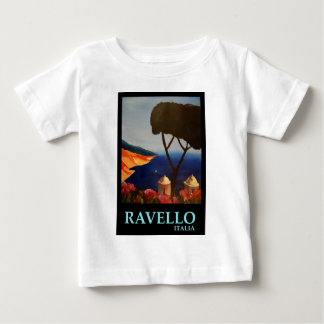 Ravello Salerno Italy View of Amalfi Coast Baby T-Shirt