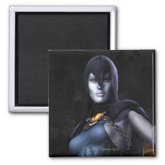 Raven 2 Inch Square Magnet