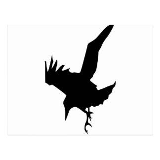 Raven A Halloween Bird Of Prey Postcard