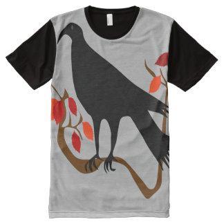 Raven All-Over Print Shirt