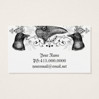 Raven and Crows Business Card