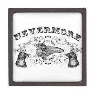 Raven and Crows Nevermore Premium Trinket Box