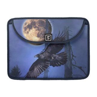 Raven and Moon Fantasy MacBook Sleeve