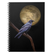 Raven and Moon Journaling Notebook