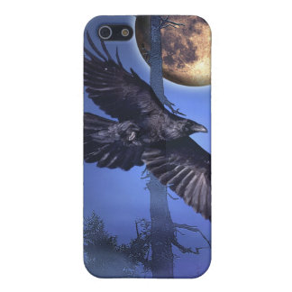 Raven and Moon Speck iPhone Cases