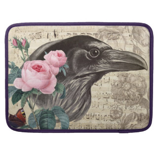 Raven and Rose Sleeves For MacBook Pro