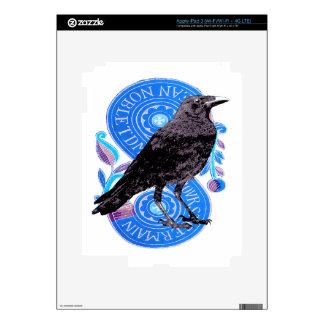 Raven and Tarot Card iPad 3 Decals
