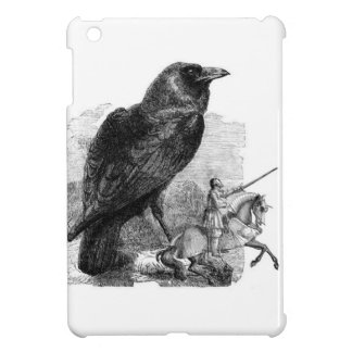 Raven and The Knight iPad Mini Covers