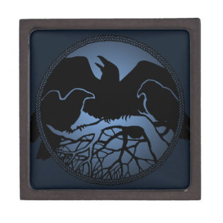 Raven Art Boxes First Nations Art Gift Boxes Premium Jewelry Box