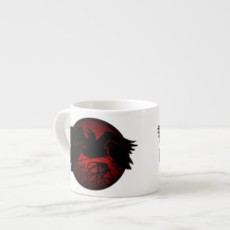 Raven Art Cup Native Art Raven Coffee Espresso Cup