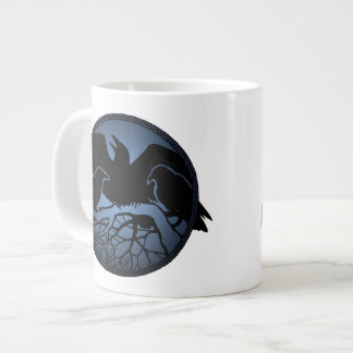 Raven Art Cup Native Art Raven Coffee Mug Cup