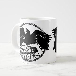 Raven Art Mug Wild Bird Coffee Mug Raven Cup