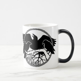 Raven Art Mug Wild Bird Crow Cup Raven  Mugs