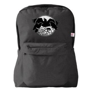 Raven Backpack Tribal Raven School Bags Customize