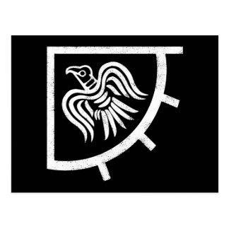 Raven Banner Viking Flag Postcard