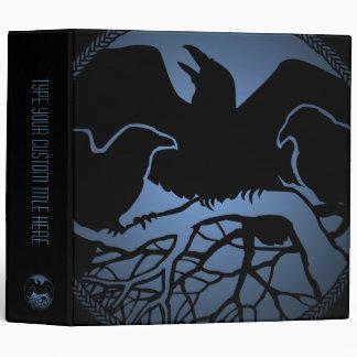 Raven Binder Raven Gift Raven Crow Art Photo Album Vinyl Binders